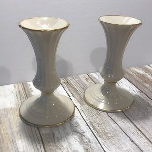 Lenox porcelain with gold trim